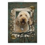 Thank You - Stone Paws - GoldenDoodle