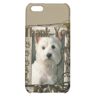 Thank You - Stone Paws - West Highland Terrier Dad iPhone 5C Cover