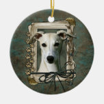 Thank You - Stone Paws - Whippet Ornaments