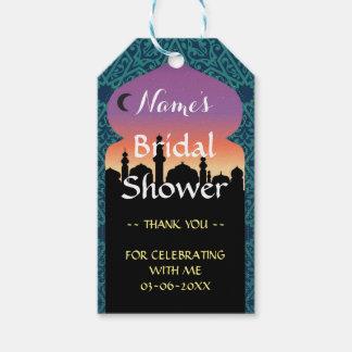 Thank you Tag Favour Arabian Nights Bridal Shower