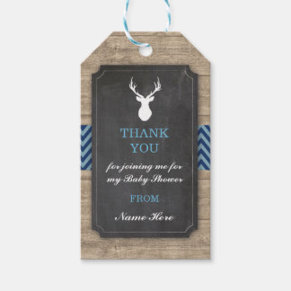Thank you Tags Favour Stag Boy Baby Shower