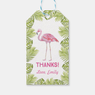 Thank you tags | Favour tags | flamingo