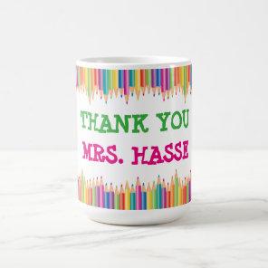 Thank You Teacher Coffee Mug