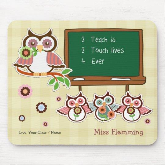 Thank You, Teacher. Customisable Gift Mousepads