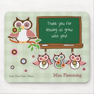 Thank You, Teacher. Customizable Gift Mousepads
