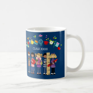 Thank You, Teacher. Customizable Gift Mugs
