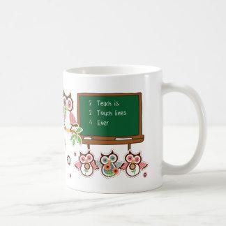 Thank You, Teacher. Funny Owls Gift Mugs