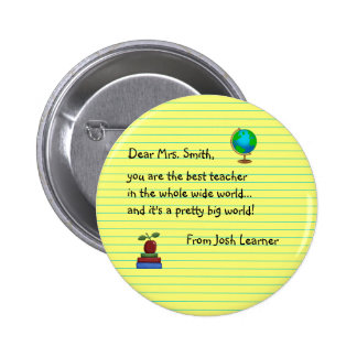 Thank You Teacher Gifts -New 6 Cm Round Badge