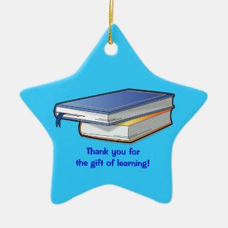 Thank You Teacher's Gift Christmas Ornament