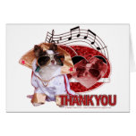 Thank You - Thank You Very Much - Chihuahua -Gizmo Greeting Card