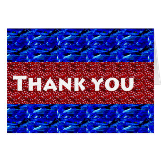 Thank you ThankYou on giveaway gifts Greeting Card