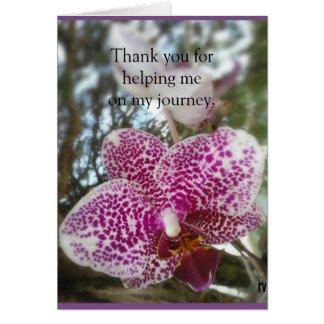 Thank-you to supporters of PAIL survivors Card