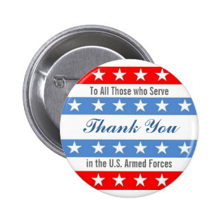 Thank You Troops 6 Cm Round Badge