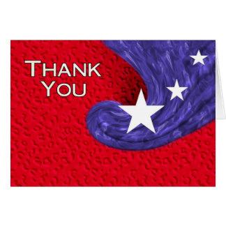 Thank You USA Greeting Card