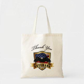 Thank You Vetearns Totes Budget Tote Bag