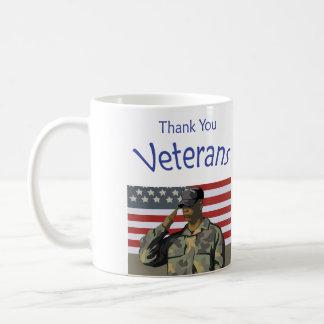 Thank You Veterans Coffee Mug