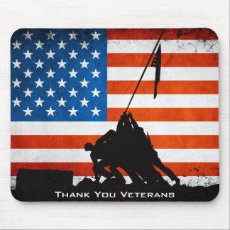 Thank You Veterans Mouse Mat