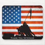 Thank You Veterans Mouse Pads