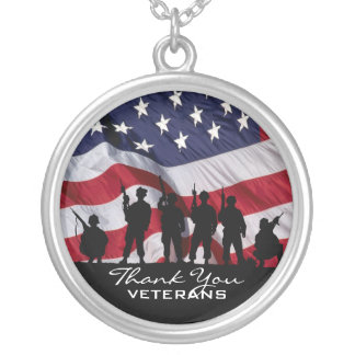 Thank You Veterans Custom Jewelry