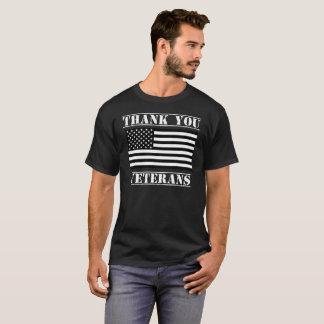 Thank You Veterans Patriotic Veterans Day Shirt