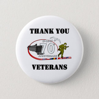 Thank you veterans - Thank you veterans 6 Cm Round Badge