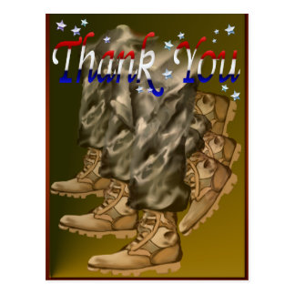 Thank You Vets Postcard