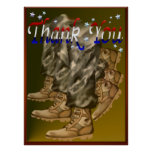 Thank You Vets Poster