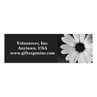 """""""Thank You"""" Volunteer Appreciation Gift Business Card Templates"""