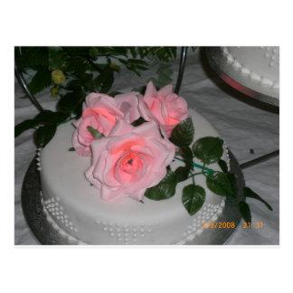 Thank you Wedding Cake Post Card