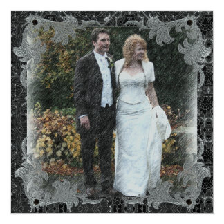 Thank You Wedding Card 13 Cm X 13 Cm Square Invitation Card