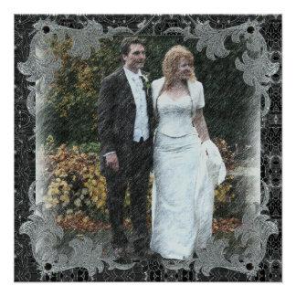 Thank You Wedding Card Announcement