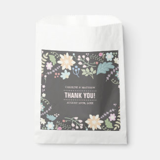 Thank You Wedding Custom Paper Favor Bags Favour Bags