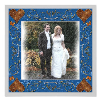 Thank You Wedding Photo Frame Personalized Announcements
