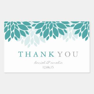 Thank You Wedding Stickers | Wedding