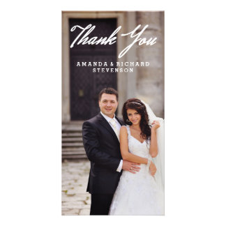 THANK YOU | WEDDING THANK YOU PHOTO CARD