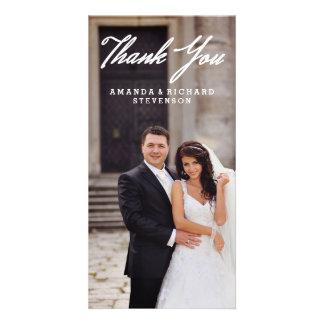 THANK YOU   WEDDING THANK YOU PHOTO PHOTO CARDS