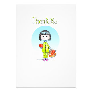 Thank You with Good Luck Custom Invites
