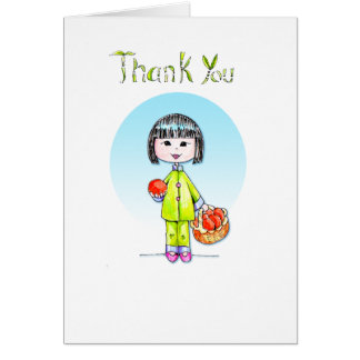 Thank You with Good Luck Note Card