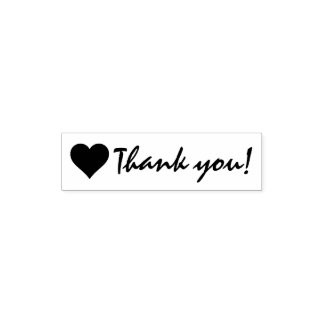 Thank you with Heart Self-inking Stamp