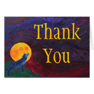 Thank You - Wolf Card