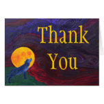 Thank You - Wolf Stationery Note Card
