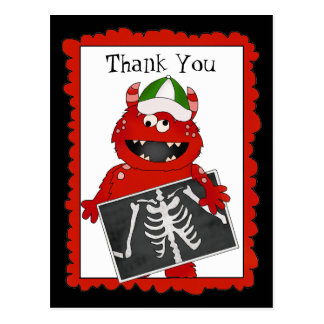 Thank You X-ray Tech postcard