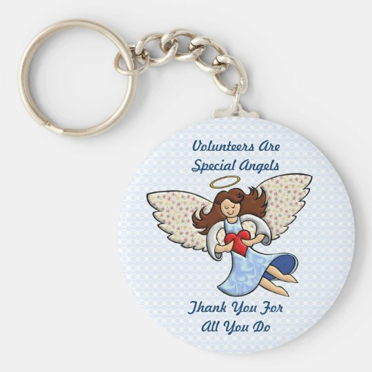 Thank You! You're An Angel! Key Ring