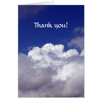 Thank You! You're an Angel! Note Card