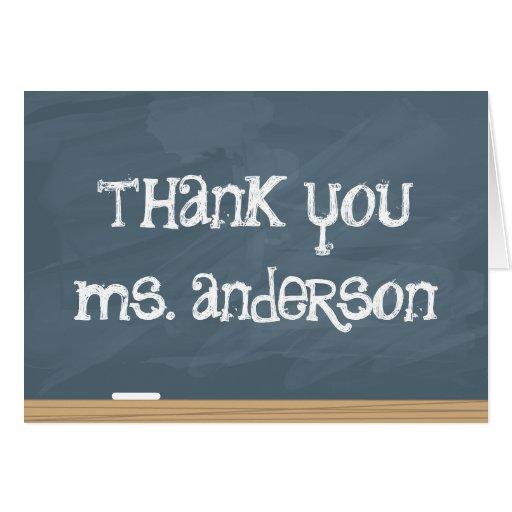 Thank your Teacher or Tutor! (add teachers name) Cards