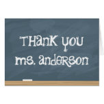 Thank your Teacher or Tutor! (add teachers name) Greeting Card