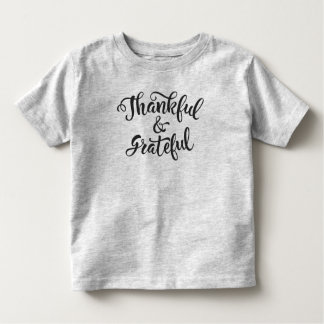 Thankful and Grateful Thanksgiving | Jersey Shirt