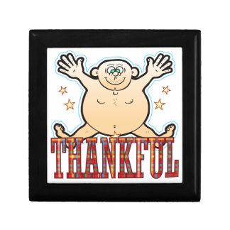 Thankful Fat Man Gift Box