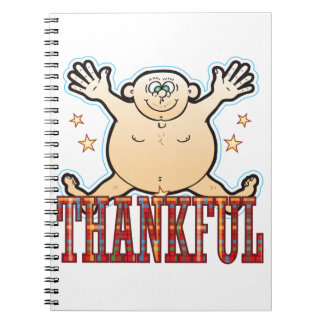 Thankful Fat Man Notebook