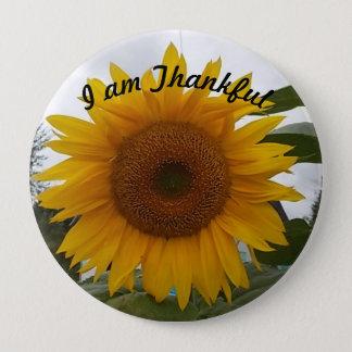 Thankful for... 10 cm round badge
